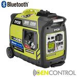 Bluetooth 2,300-Watt Green Gasoline Powered Digital Inverter Generator