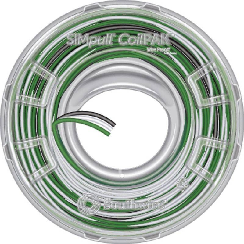 Building Wire: Southwire Electrical Wiring CoilPAK 1050 ft. 12/3 ...