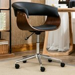 SWEETWATER DESK CHAIR UPHOLSTERY BLACK