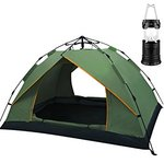 REDCAMP 2-3 PERSON CAMPING TENT HUNTER GREEN