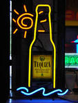 TEQUIZA TEQUILA BOTTLE NEON PUB SIGN