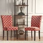 LEA PARSONS CHAIR (SET OF 2) SAMBA RED