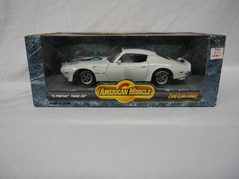 AMERICAN MUSCLE 1970 PONTIAC TRANS AM | DIE CAST AND WINTER WEAR ...
