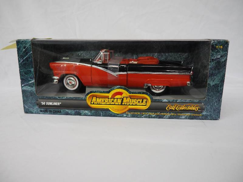AMERICAN MUSCLE 56 SUNLINER CONVERTIBLE | DIE CAST AND WINTER WEAR ...